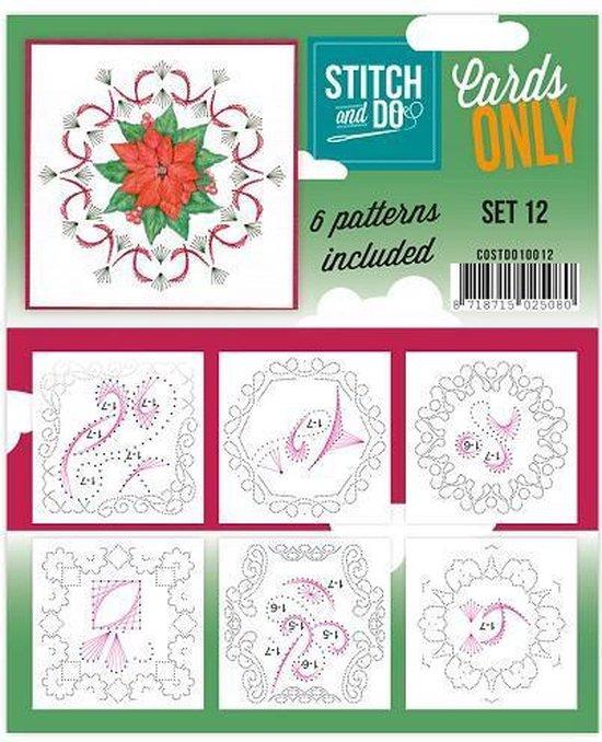 Afbeelding van het spel Stitch & Do - Cards only - Set 12