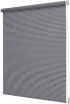 Rolgordijn Lichtdoorlatend Donkergrijs - 150x190cm - Raambekleding - Intensions