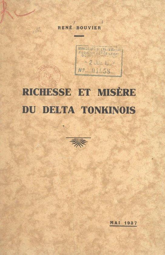 Richesse et misère du Delta tonkinois