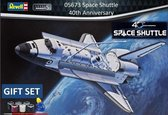 1:72 Revell 05673 Space Shuttle, 40th. Anniversary - Gift Set Plastic kit