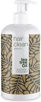 Australian Bodycare Hair Clean Shampoo met Tea Tree Olie 500 ml - Anti-roos shampoo gebaseerd op Tea Tree Olie geschikt voor een jeukende, schilferige, droge en geïrriteerde hoofdhuid - Tegen pukkeltjes en puistjes op de hoofdhuid