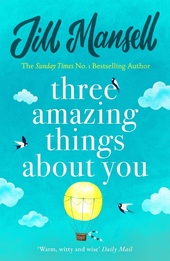 Omslag van Three Amazing Things About You