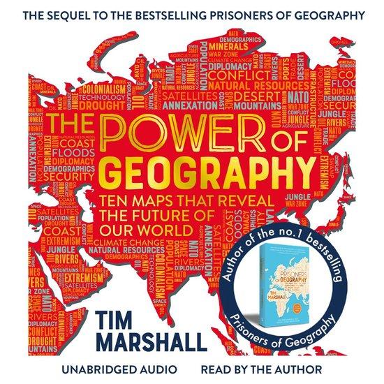 Boek cover The Power of Geography van Tim Marshall (Onbekend)