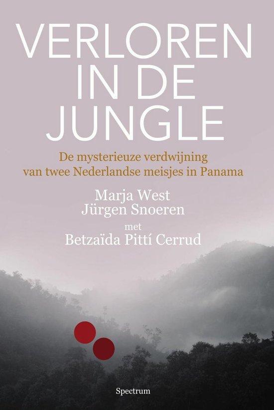 Boek cover Verloren in de jungle van Marja West (Onbekend)