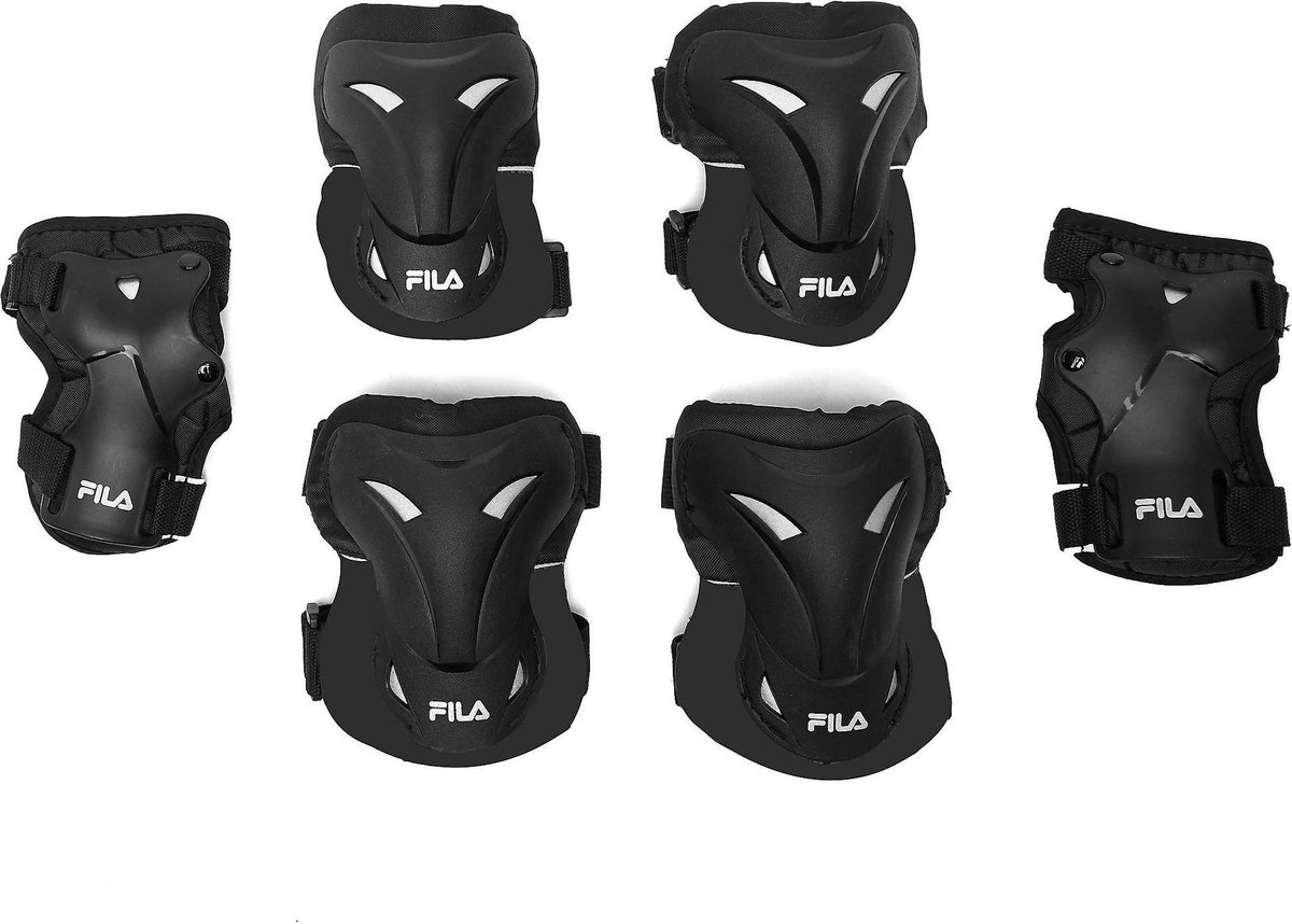 Fila Skate Bescherming 3-Pack Zwart - Maat M
