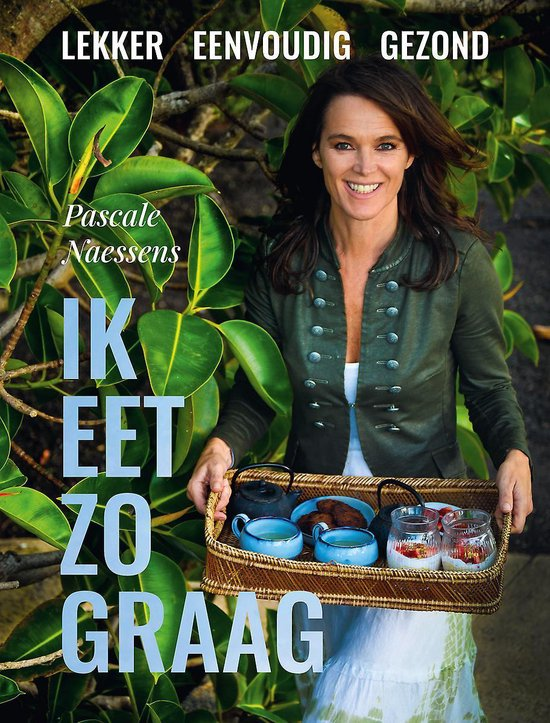 Boek cover Ik eet zo graag van Pascale Naessens (Hardcover)