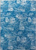 Alice's Garden Buitentapijt - binnen/buiten - Polypropyleen - 200x290 - Donker turquoise