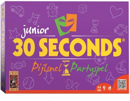 30 Seconds ® Junior Bordspel