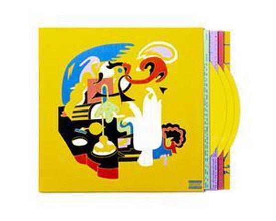 CD cover van Faces (LP) van Mac Miller