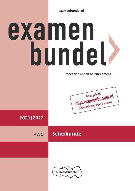 Boek cover Examenbundel vwo Scheikunde 2021/2022 van  (Paperback)