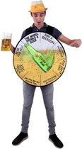Het rad van bier kostuum one size