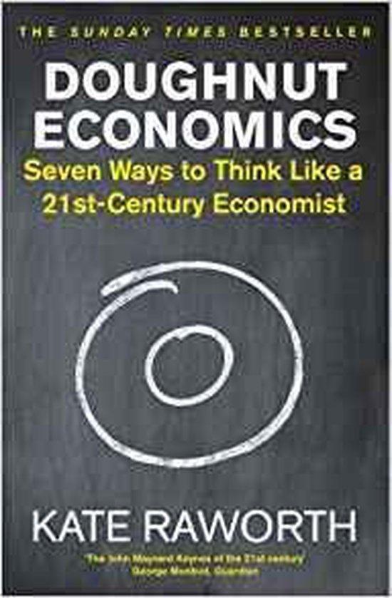 Boek cover Doughnut Economics van Kate Raworth (Paperback)