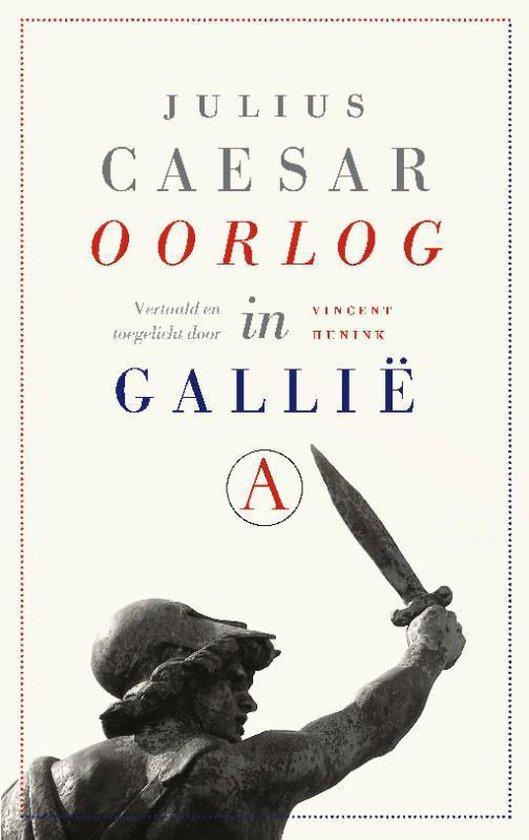 Boek cover Oorlog in Gallië van Julius Caesar (Paperback)
