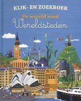 Kijk- en Zoekboek - De wereld rond | Wereldsteden