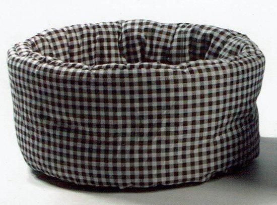 Dierenmand - Block Basket - zwart - Doornee 35 cm