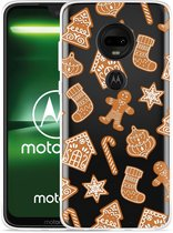Moto G7 Plus Hoesje Christmas Cookies
