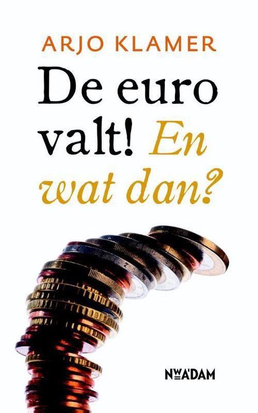 Boek cover De euro valt! En wat dan? van Arjo Klamer (Paperback)