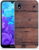 Huawei Y5 (2019) Bumper Hoesje Old Wood