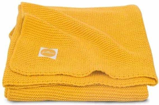 Jollein Basic knit Deken 75x100cm ocher