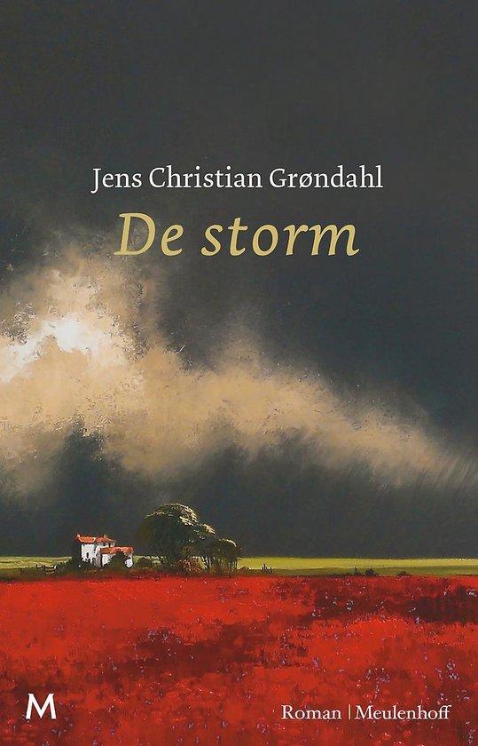 Boek cover De storm van Jens Christian Grøndahl (Hardcover)