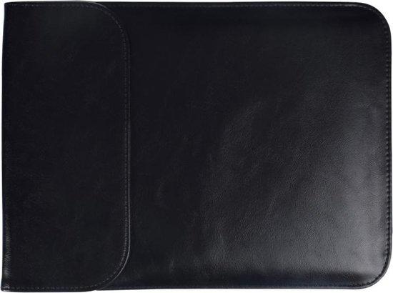 Let op type!! 15 4-inch PU + Nylon tas geval Sleeve laptop dragen laptoptas  voor MacBook  Samsung  Xiaomi  Lenovo  Sony  DELL  ASUS  HP (zwart)