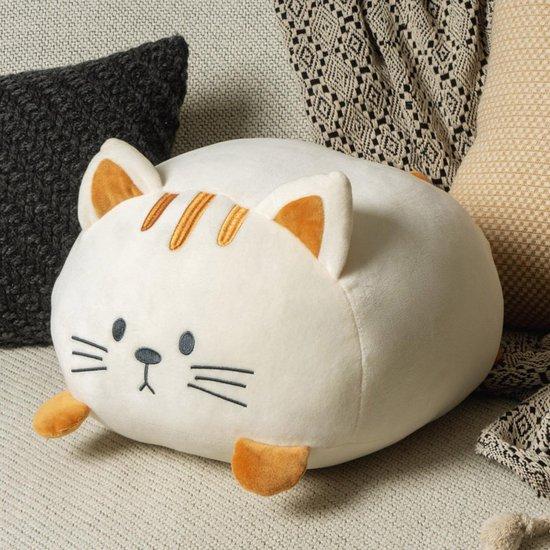 Balvi kussen kat Kitty creme