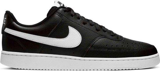 Nike Court Vision Lo Sneakers - Maat 44.5 - Mannen - zwart/wit