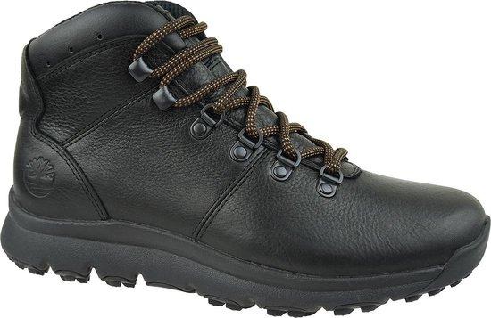 Timberland World Hiker Mid A211J, Mannen, Zwart, Schoenen maat: 46 EU