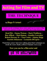 Acting for Film and TV -The Technique-