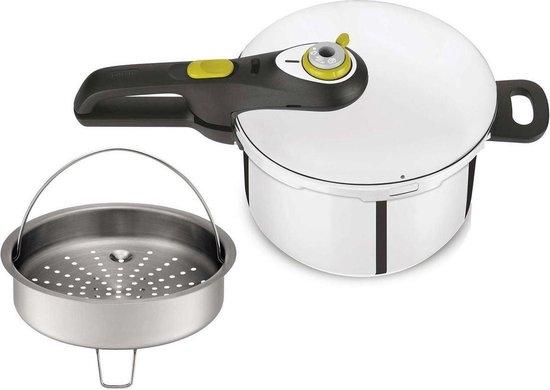 Tefal Secure5 NEO Snelkookpan - Voor alle warmtebronnen, ook inductie - 6 liter