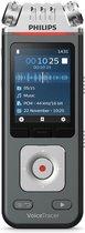 Philips Voice Tracer DVT6110/00 dictaphone Flashkaart Antraciet, Chroom