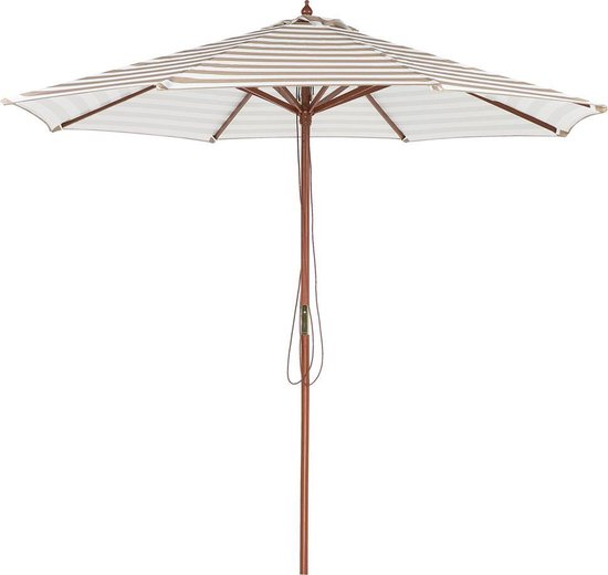 Beliani FERENTILLO - Parasol - Beige - Polyester