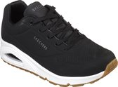 Skechers Uno Stand On Air Dames Sneakers - Black - Maat 39
