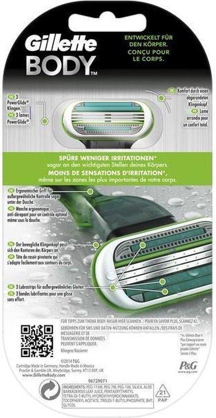 Gillette Body Razor - Scheermes
