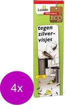 Luxan Zilvervisjesval - Insectenbestrijding - 4 x 3 stuks