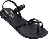 Ipanema Fashion Sandal VII Dames Sandaal - Black - Maat 41/42