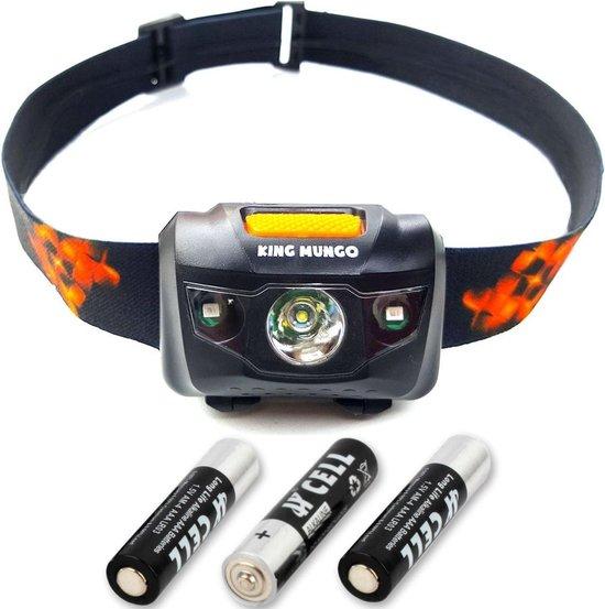 Hoofdlamp LED | Hoofdlampje Waterdicht | Incl AAA batterijen KMHL003