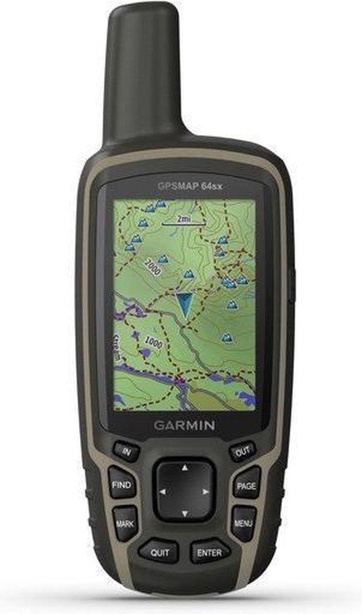 Garmin GPSMAP 64sx GPS tracker Persoonlijk Zwart, Groen 8 GB