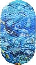 Papillon antislip badmat Dolfijn - 69x39 cm pvc