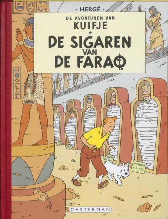 Kuifje facsimile kleur Hc04. sigaren van de farao - Hergé |