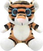 Pluche tijger knuffel 19 cm