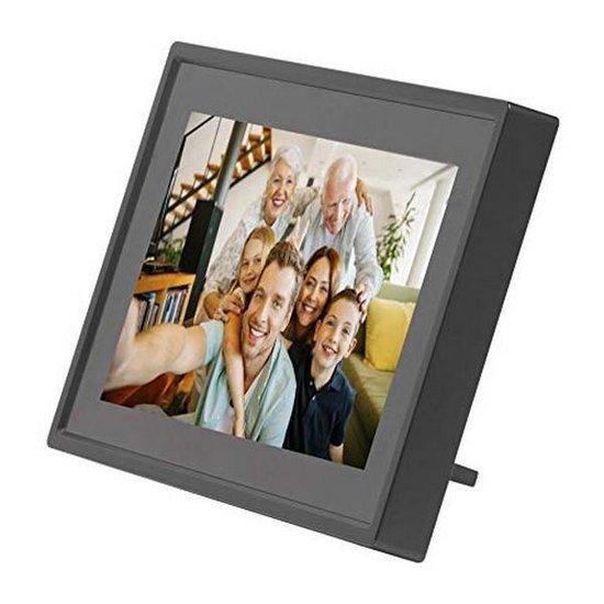 Denver PFF-711 Black - Digitale Fotolijst - 7 inch - met Frameo software en Wi-Fi - Zwart