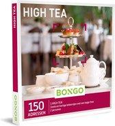 Bongo Bon Nederland - High Tea Cadeaubon - Cadeaukaart cadeau voor man of vrouw | 150 adressen: traditioneel Britse theehuizen, sfeervolle theetuinen en trendy restaurants