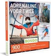 Bongo Bon Nederland - Adrenaline voor Twee Cadeaubon - Cadeaukaart cadeau voor koppels | 900 uitdagende activiteiten: escape room, karting, lasergame, kitesurfen, duiken en meer