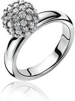 Zinzi - Zilveren Ring -  Maat 62 (ZIR544-62)