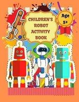 Children's Robot Activity Book