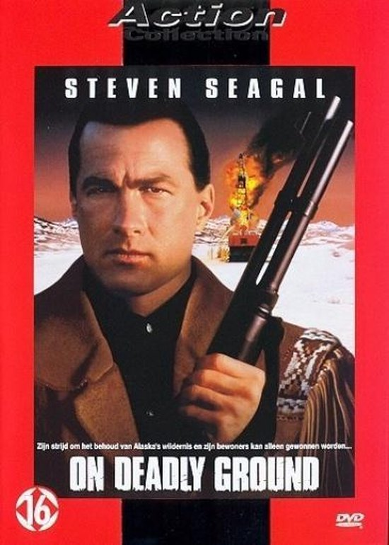 Cover van de film 'On Deadly Ground'