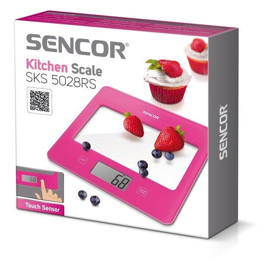 Sencor Sks5028Rs Keukenweegschaal