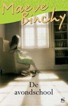 Boek cover De avondschool van Maeve Binchy (Onbekend)