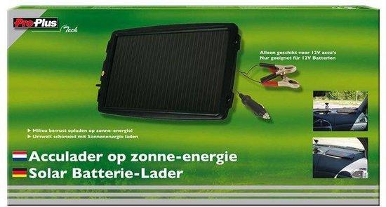 Proplus Druppellader Op Zonne-energie 12 Volt 0,2 Ampère Zwart